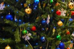 结构树xmas 免版税库存照片