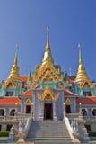 结构样式泰国传统 免版税库存图片