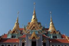 结构样式泰国传统 免版税库存照片