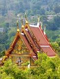 结构样式泰国传统 库存图片