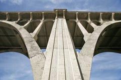 结构桥梁详细资料 免版税库存图片