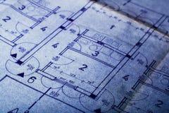 结构概想计划 图库摄影
