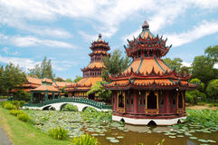 结构泰国 免版税图库摄影