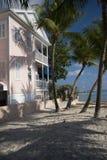 结构海滩佛罗里达Key West 库存照片