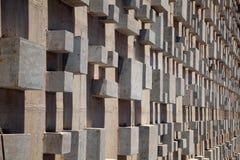 结构混凝土模式 免版税库存照片