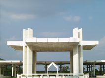 结构清真寺巴基斯坦人 图库摄影