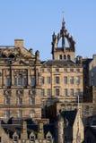 结构爱丁堡老城镇 免版税库存图片