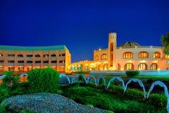 结构现代埃及的旅馆 图库摄影