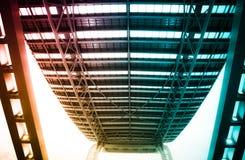 结构现代大厦的城市 免版税库存照片