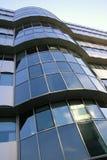 结构现代大厦的详细资料 库存照片