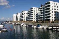 结构现代的哥本哈根 免版税库存照片