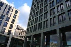 结构现代的柏林 免版税库存图片