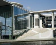 结构现代的柏林 免版税图库摄影