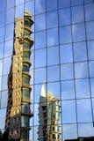 结构现代的里斯本 库存图片