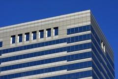 结构现代街市的芝加哥 免版税库存照片
