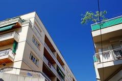 结构现代西班牙语 库存照片