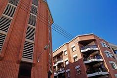 结构现代西班牙 库存图片