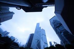 结构现代都市 免版税库存图片