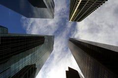 结构现代都市 免版税库存照片