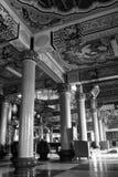 结构瓷内部寺庙 库存照片