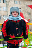 结构的小孩 图库摄影