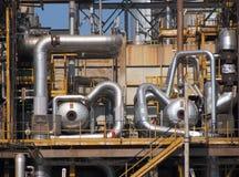 结构精炼厂 库存照片