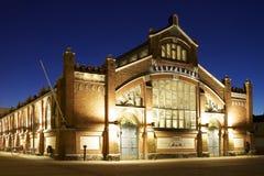 结构经典芬兰大厅市场 免版税图库摄影