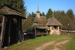 结构罗马尼亚传统 免版税库存照片