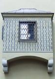 结构老城镇华沙 库存照片