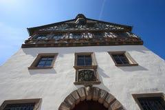 结构老城镇 免版税库存照片