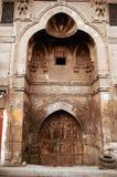 结构背景伊斯兰的开罗 库存照片
