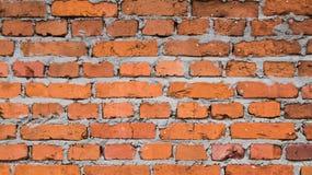 结构背景砖详细资料老红色纹理墙壁 库存照片