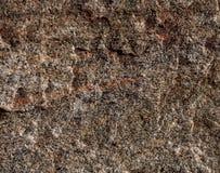 结构自然不是与红色静脉的优美的花岗岩褐色 库存照片