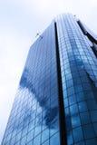 结构蓝色现代 免版税库存图片