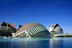 结构设计现代西班牙巴伦西亚 图库摄影