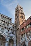 结构详细资料在Lucca,托斯卡纳 免版税图库摄影