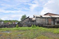 结构详述favela 库存图片