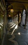 结构运河全部走廊意大利威尼斯 免版税库存图片