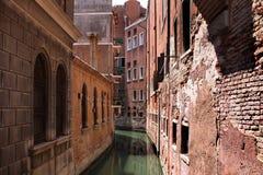结构运河威尼斯 免版税库存图片