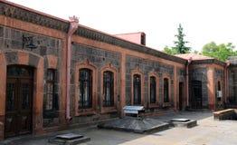 结构dzitoghtsyan gyumri博物馆 免版税图库摄影
