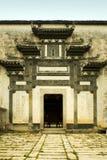结构hongcun典型的惠州 免版税库存图片