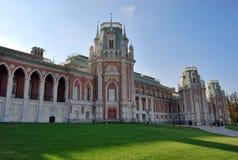 结构tsaritsynsky莫斯科的公园 库存图片