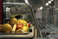 结果实塑料蔬菜 免版税库存照片