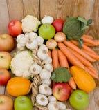 结果实成熟蔬菜 免版税库存照片