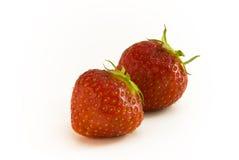结果实strawbeery 免版税库存照片