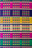 结辨的色的图象多纸莎草纱线 免版税库存图片
