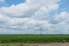绕环投球法在印第安纳的乡区路线sixity五 库存照片
