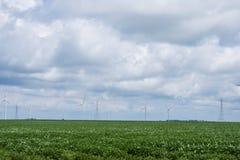 绕环投球法在印第安纳的乡区路线sixity五 免版税库存图片