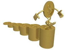 绘制增长 免版税图库摄影