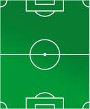 绘制足球场 图库摄影